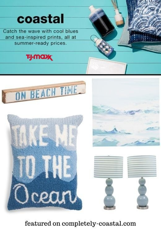 Blue Coastal Decor Ideas