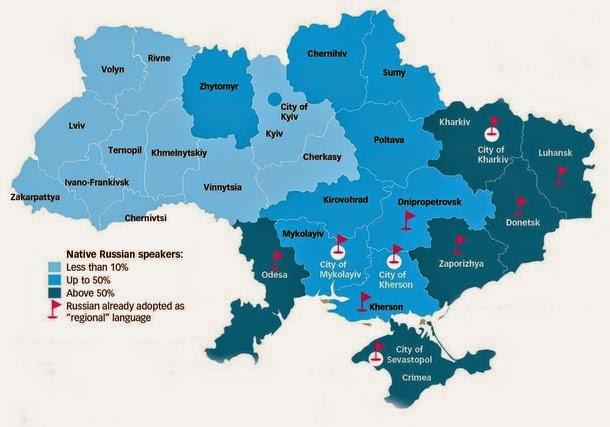 Ukraine Though Among Russian Speakers 31
