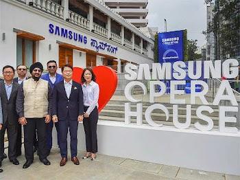 Samsung has opened its biggest mobile store worldwide in Bengaluru.