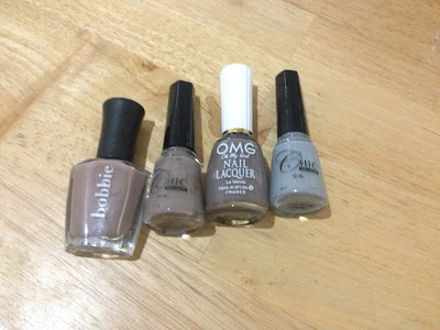 Manicure Monday: Shades of Grey