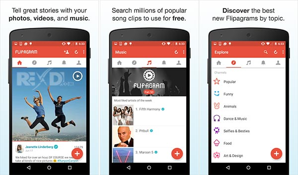 Flipagram 5.5-GP Apk for Android