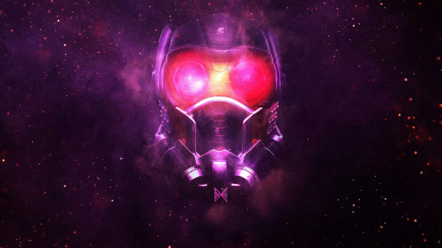 Papel de parede Star Lord Avengers Infinity War para PC, Notebook, iPhone, Android e Tablet.