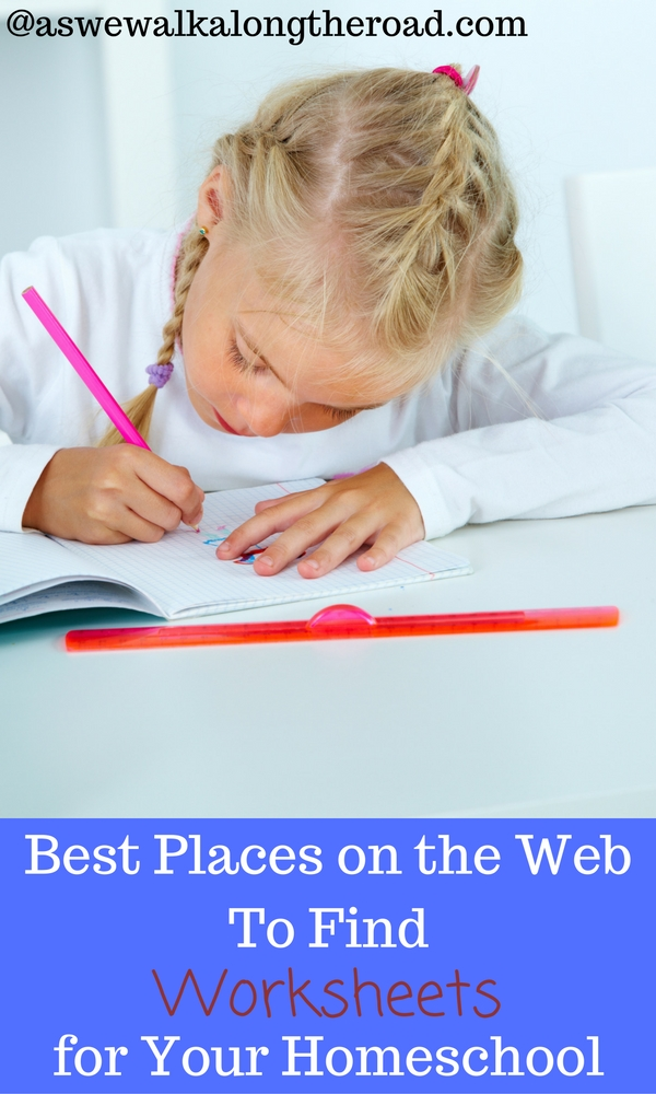 Sites with printable worksheets