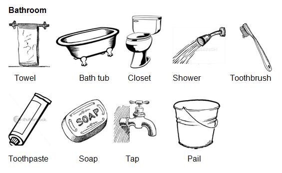 Materi Bahasa Inggris Kelas 1: My Bathroom