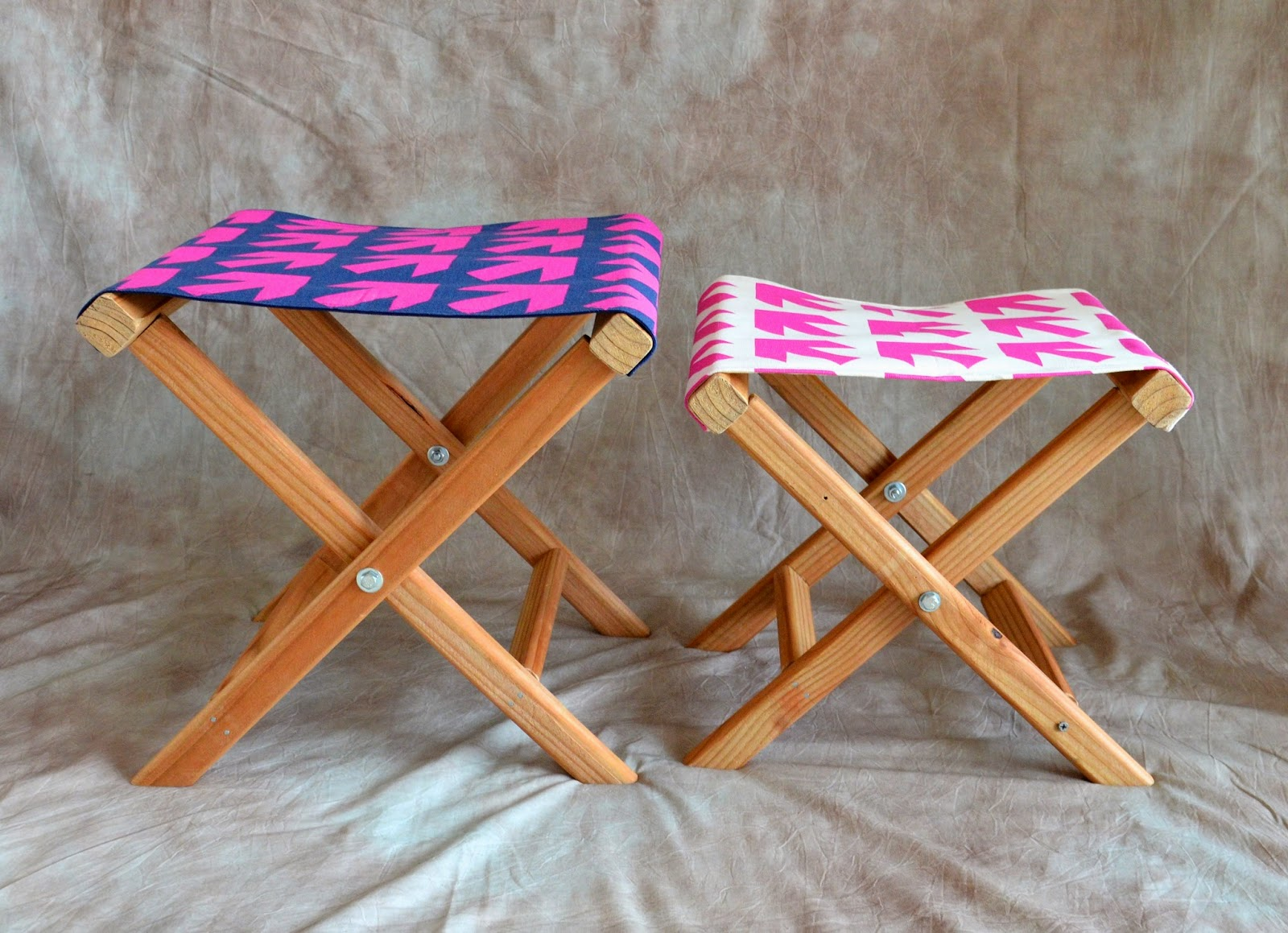 folding chair rack diy swing home town how to make a camp stool about orange
