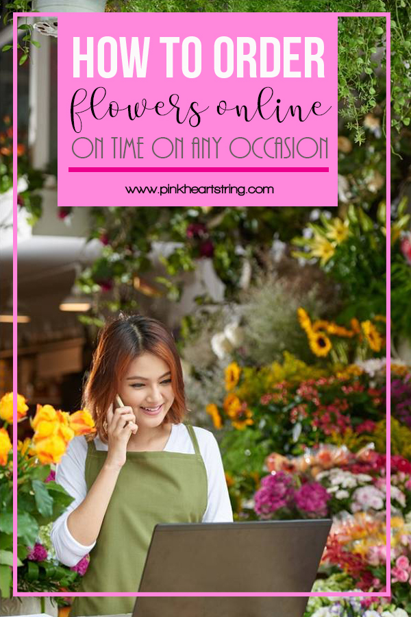 how to order flowers online