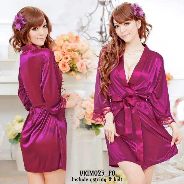 Jual Lingerie Seksi Kimono Ungu (VKIM025) Produk Import 100% Berkualitas Terbaik Nyaman dipakai dengan Harga Grosir dan Ecer Termurah.