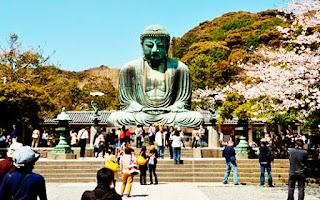 Visitando a Buda de kamakura