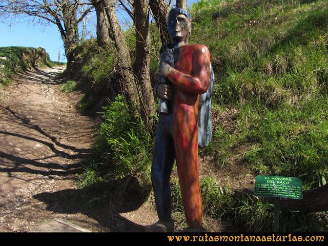 Camino Encantado Llanes: Hombre del Saco