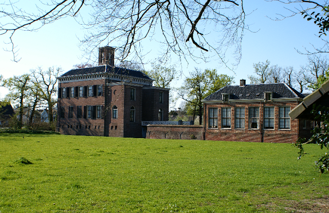 Castelo de Gunterstein na Holanda