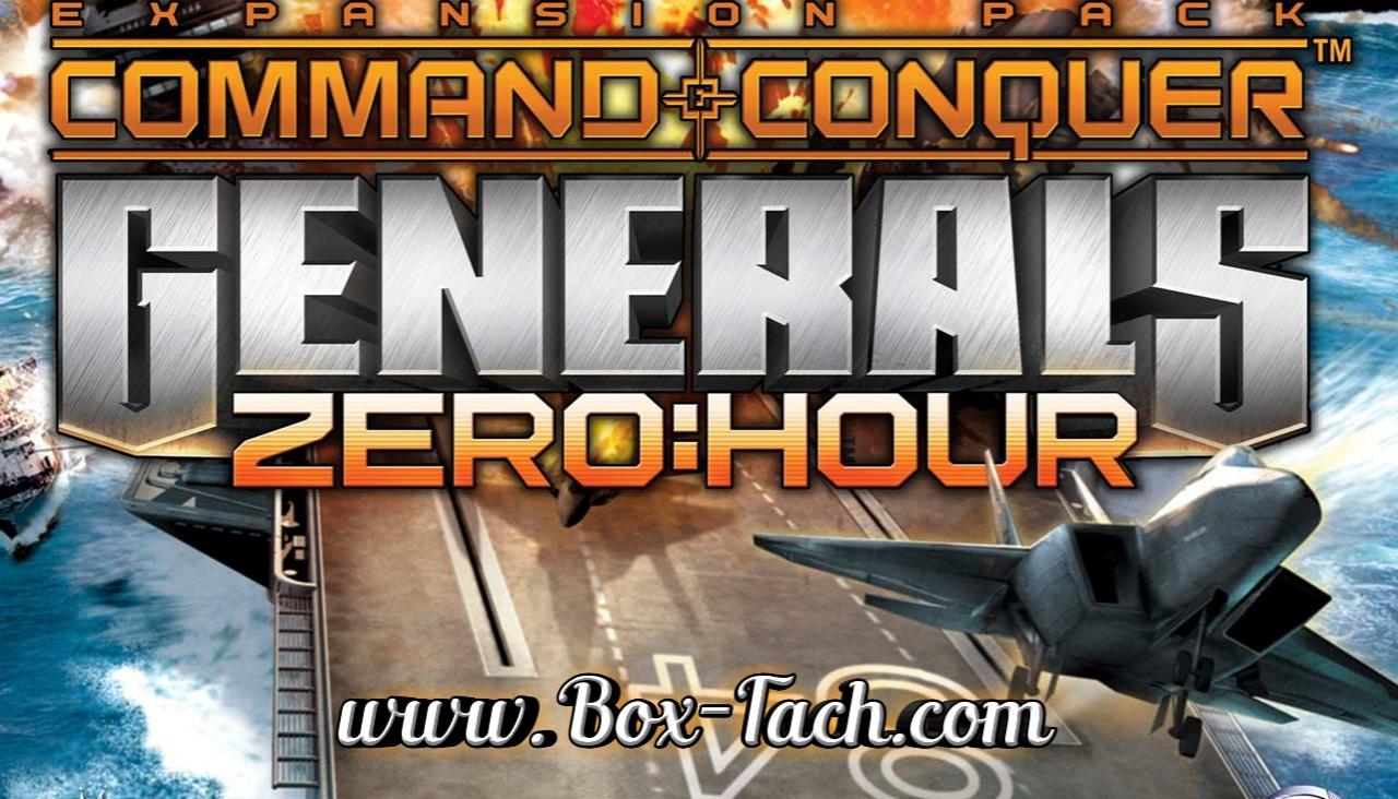 تحميل لعبة جينرال زيرو Generals Zero Hour على الكمبيوتر