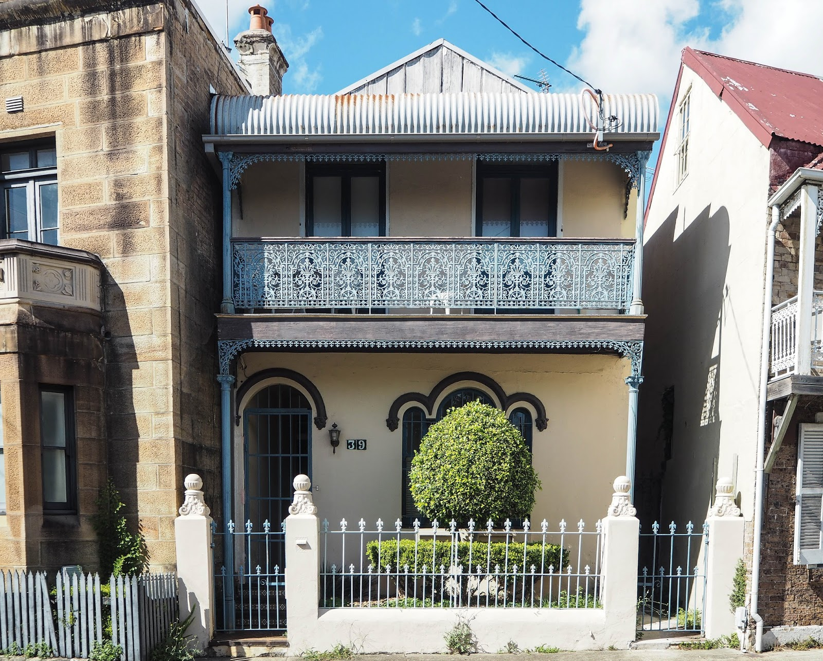Terraced houses in Paddington, Sydney