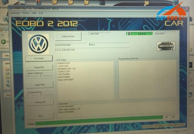 Tested Fgtech Galletto 4 V54 On Vw Polo Edc15 Ok
