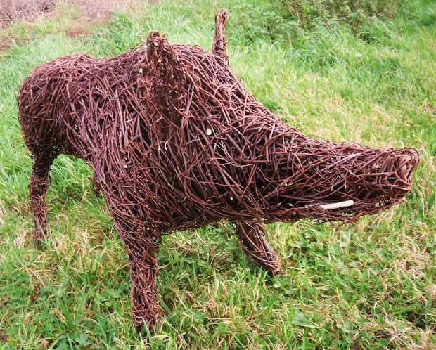 Michelle Cain Latest Willow Sculptures