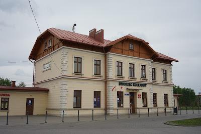 Dworzec kolejowy w Leżajsku