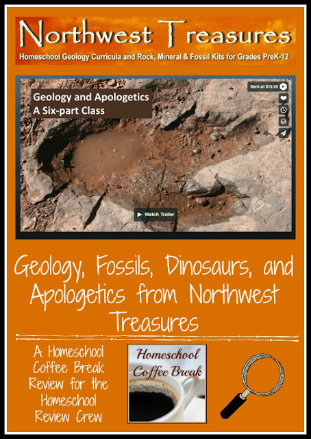 Geology, Fossils, Dinosaurs, and Apologetics from Northwest Treasures - A Homeschool Coffee Break Review @ kympossibleblog.blogspot.com