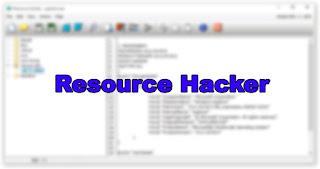 Cara Edit Software Berekstensi exe, dll, cpl menggunakan Resource Hacker