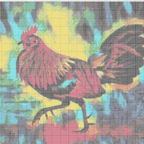 Gambarkristikcom Ayam Free Cross Stitch Patterns Gambar Pola