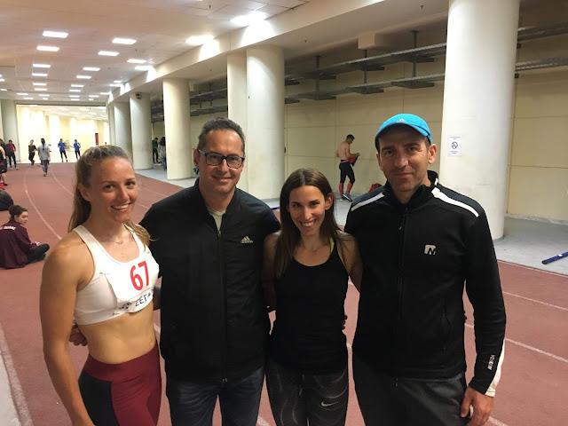 2η η Ελπίδα Τόκα και 3η η Ειρήνη Γεωργαλά του ΣΔΥ Αργολίδας στα 400μ στο Διασυλλογικό πρωτάθλημα