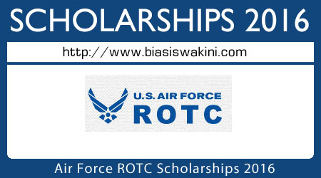 Air Force ROTC Scholarships 2016