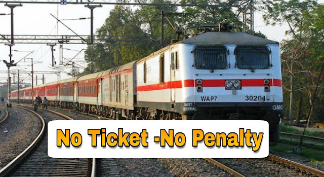 Travelling Without Ticket in Train