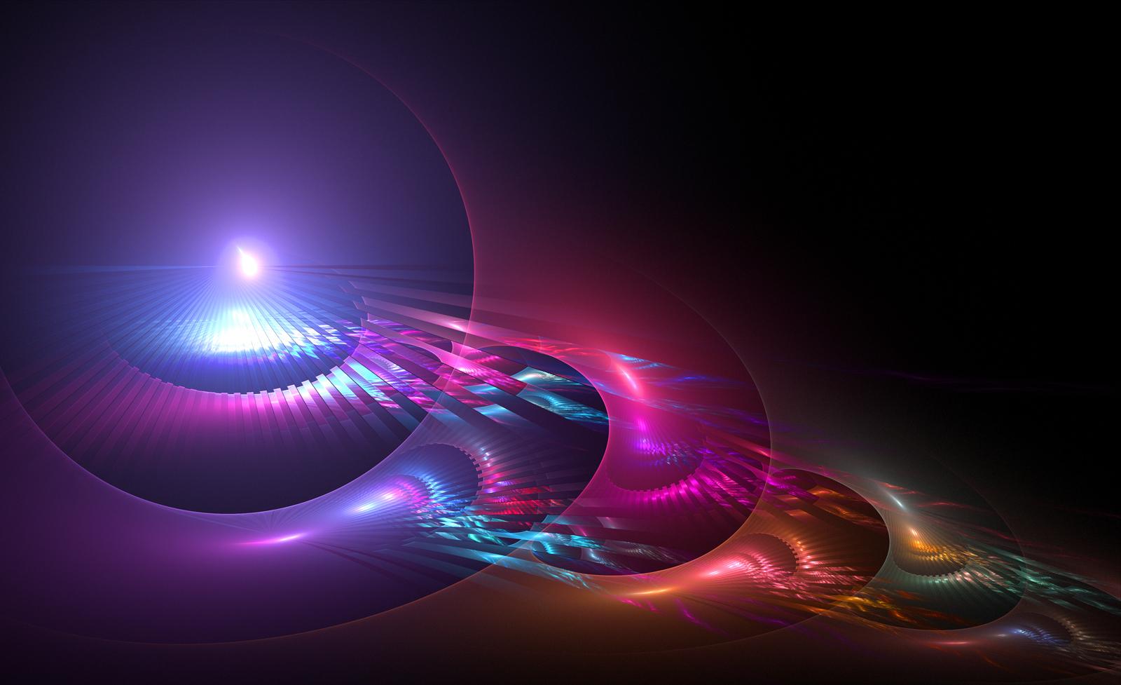 Lights  Vector Background