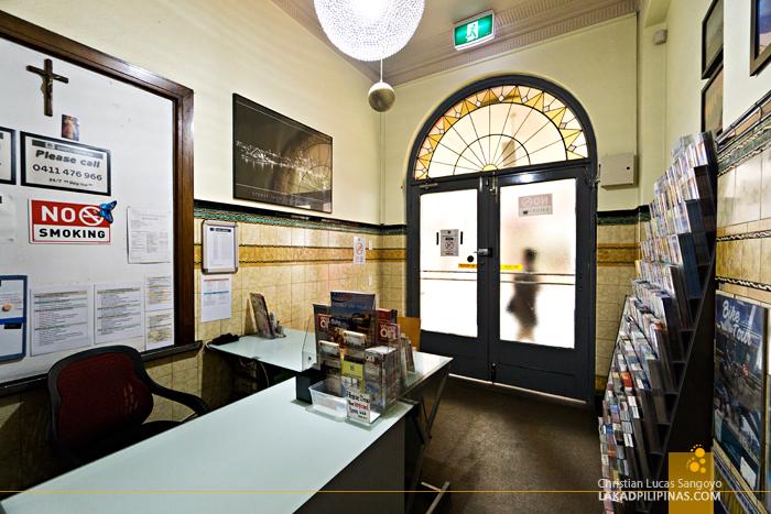 Sydney Central Inn Lobby
