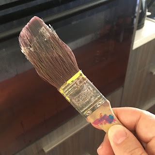 Dedicated Beeswax wax brush
