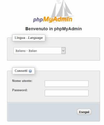 Come installare phpMyAdmin