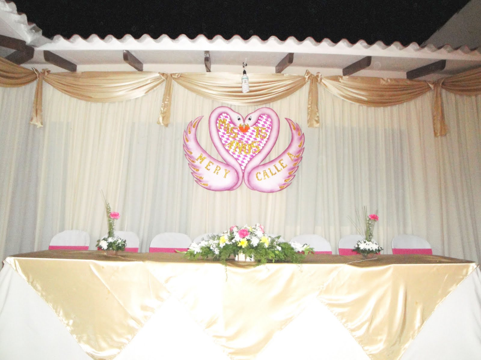 Como Decorar Un Local Para Matrimonio Creatividad Eventos Sociales Decoración De 15 Años