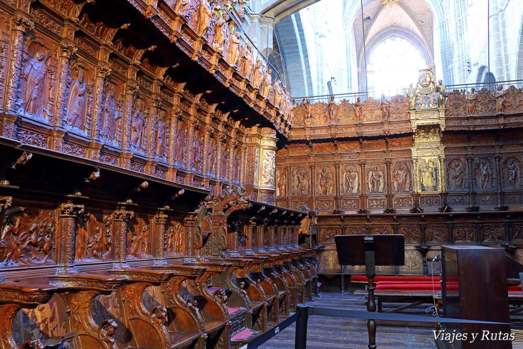 Sillería de la catedral de Ávila