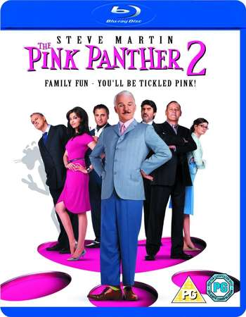 Poster Of The Pink Panther 2 2009 English 300MB BRRip 480p ESubs Free Download Watch Online