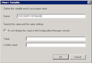 Prompt for Computer Name during SCCM OSD 4