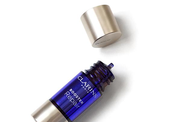Clarins Booster Repair Skincare Review Mimosa Tenuiflora Extract Gotu Kola