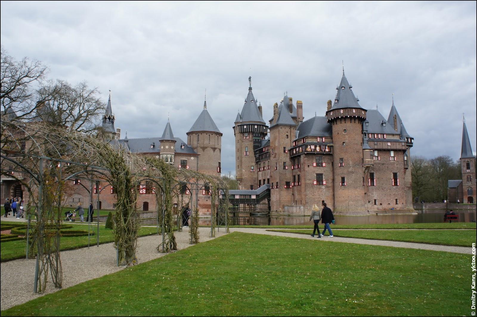 Замок De Haar.