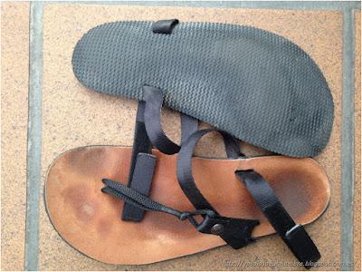 Sandalias de asfalto - 5 mm de suela