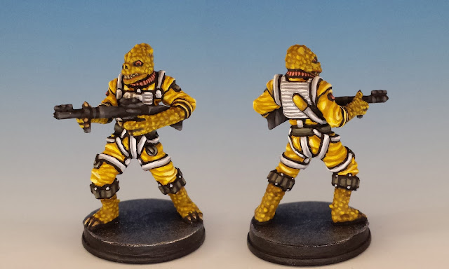 Bossk, Imperial Assault (2016), painted miniature