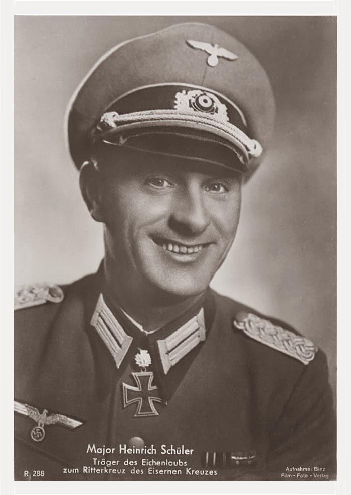Heinrich Schüler Ritterkreuzträger Knight Cross Holder Postcard
