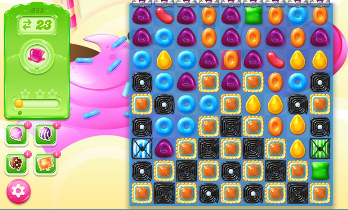 Candy Crush Jelly Saga level 685
