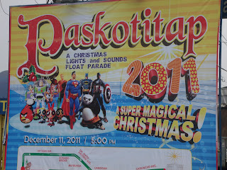 Paskotitap 2011 :A Christmas Light And Sounds Float Parade