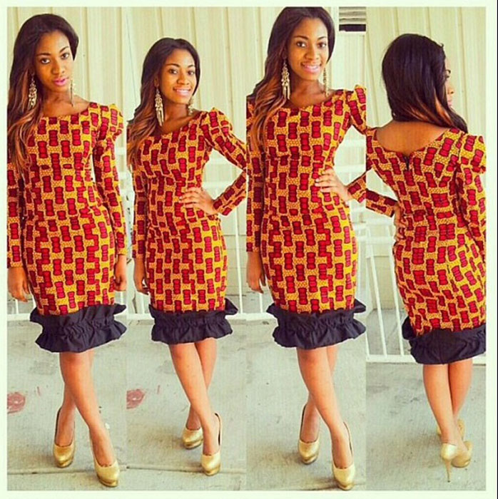 beautiful-african-print-gown-designs