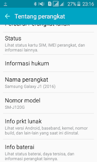 Flash Cara flash Galaxy J1 2016 SM-J120G Bahasa Indonesia