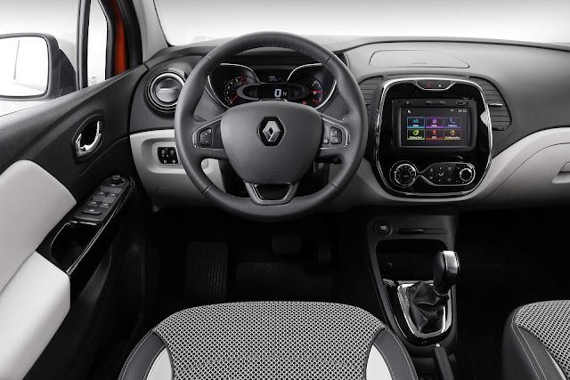 Renault Captur 1.6 Automática - interior