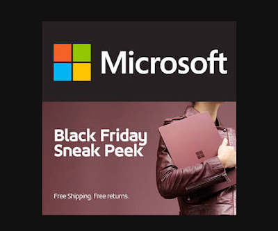 Microsoft Black Friday 2017 Ad
