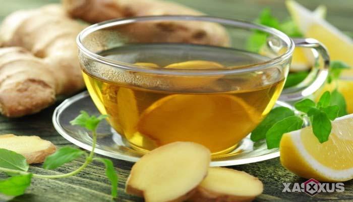 Minuman untuk diet alami dan cepat - Air (wedang) jahe