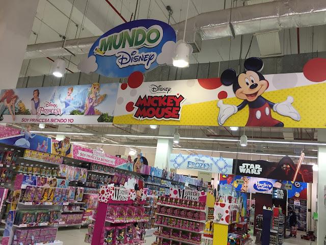 Mundo Disney en Tottus - Día del Niño