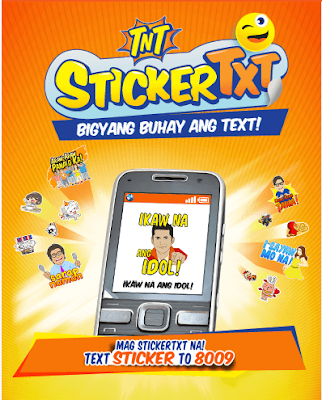 Sticker Text Promo of TNT