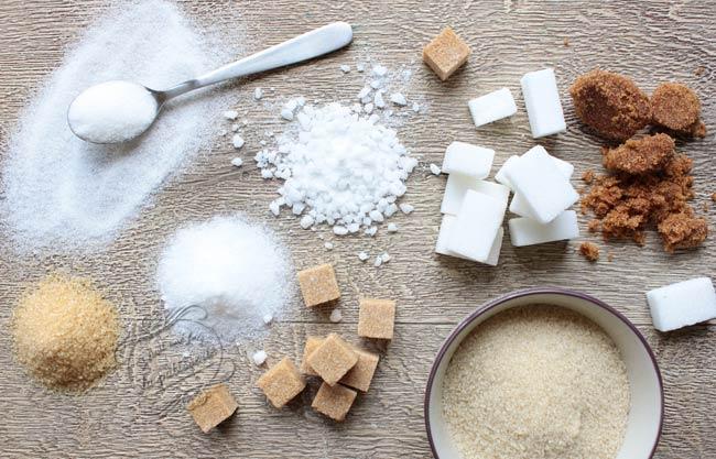différences entre les sucres