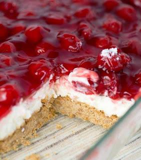 Easy Cherry Delight Dessert No Bake