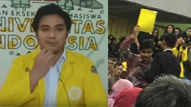 Asisten Dosen Bongkar Nilai Fiskom Ketua BEM UI yang Kartu Kuning Jokowi, Sebelum Kritik Jokowi Mustinya Kritik Diri Sendiri Dulu,  Ternyata Memang Nol Besar......